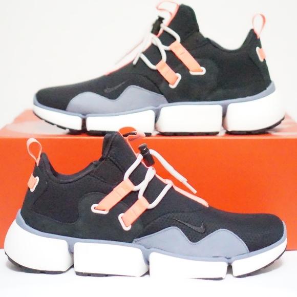 4f5a891729dc Nike NikeLab Pocketknife DM Black Hot Punch